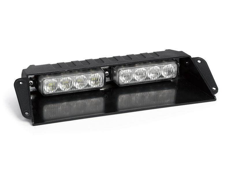 High intensity LED Visor Warning Strobe Lights with R65 - H2H4(050203)